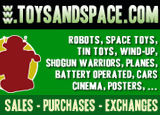 Toys and Space