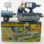 Mobile space TV unit