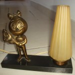Esso Trophy Lamp +- 1950