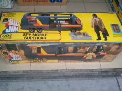 Big Jim - Spy Mobile Car (Mattel)