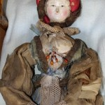 German Wooden Doll / Duitse houten Grodentaller pop / Poupe Allemande en bois