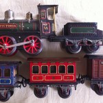 Bing gauge1 Victoria; train;trein;tinplate;eisenbahn