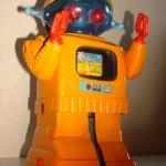 Robot Orange Espagnol