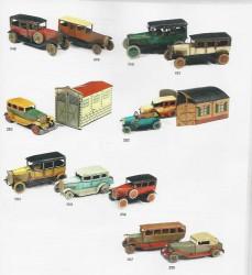Ensemble de véhicules mécaniques en tôle lithographiée: Divers fabricants dont TIPPCO, DISTLER, OROBR, PAYA, JEP, KARL BUB...