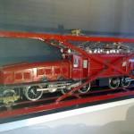 Maquette loco corcodile - vintage