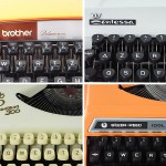 Various mechanical portable typewriter - vintage
