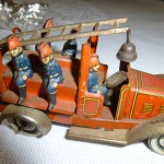 Puppen Herz - mechanical - fire truck - Fischer