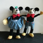 Vintage, Mickey en Minnie, Mickey, Minnie, Dean's Ragbook