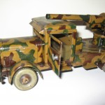 Camion tipp co camouflage