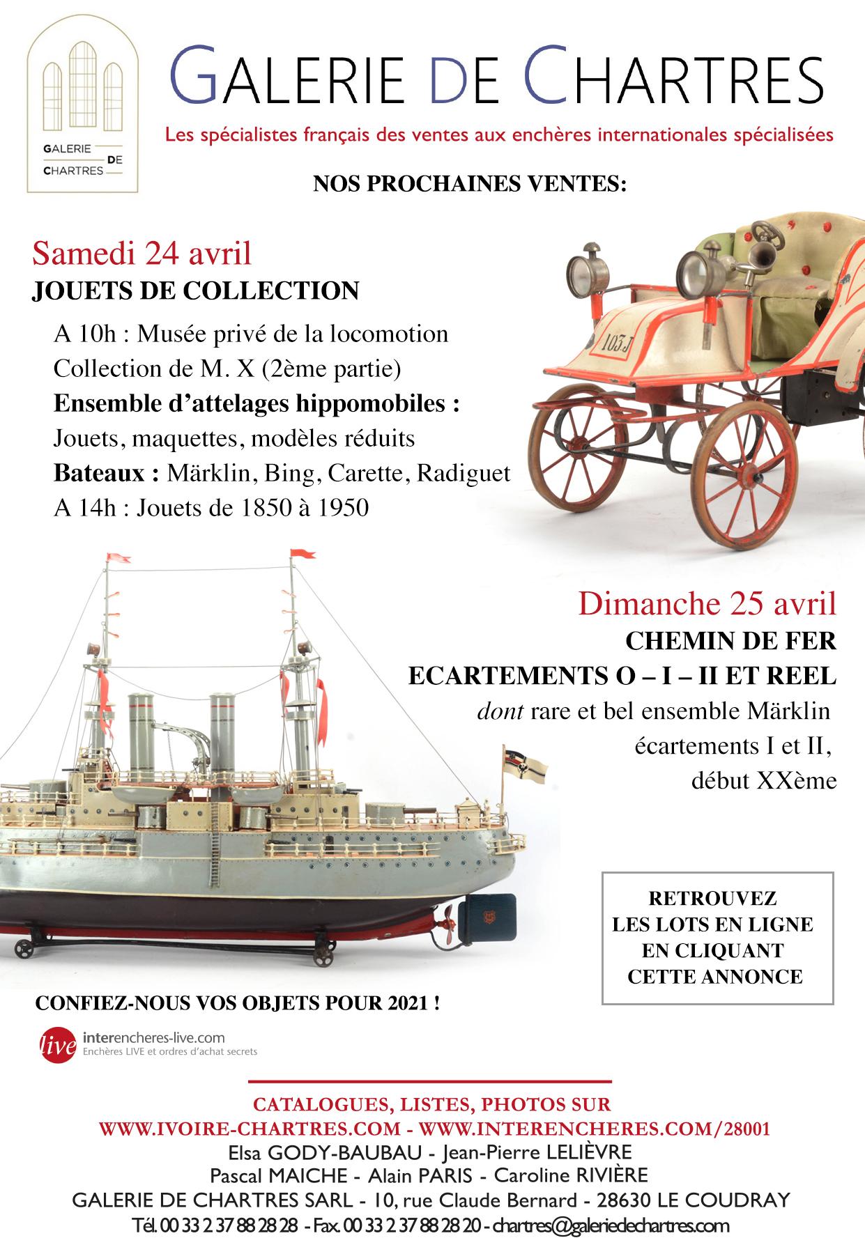 00-Galerie de Chartres 24 & 25 avril 2021